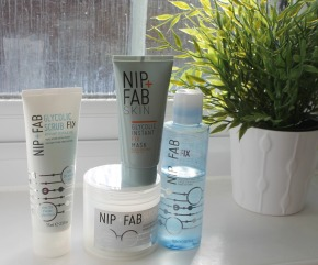 Nip and Fab Glycolic Range